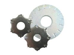 Stahl mit Hartmetall-Schneiden